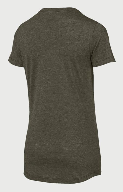Hnědé sportovní dámské tričko Puma