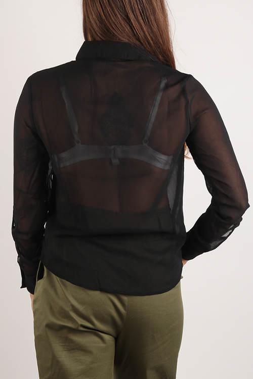 Průhledná dámská košile Terranova