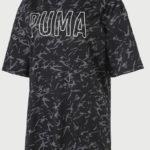 Žíhané dámské tričko s krátkým rukávem Puma