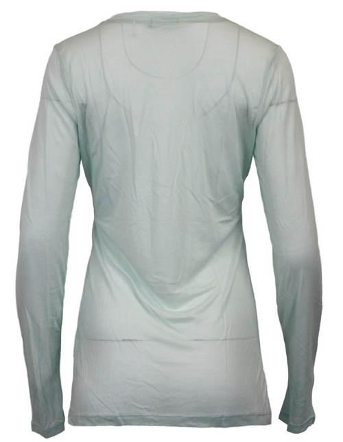 Bílé průsvitné dámské tričko