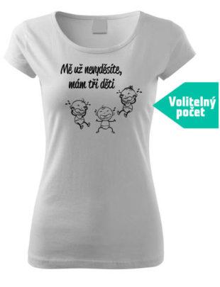 Tričko s vtipným potiskem pro maminku