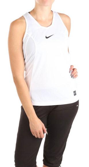 Bílé sportovní dámské tílko Nike