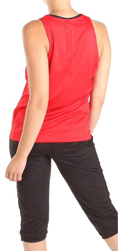 Levné červené tričko Nike
