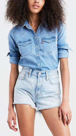 Dámská džínová košile LEVI'S Ultimate Western