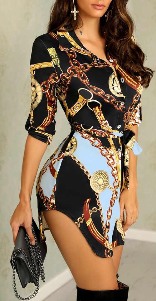 Prodloužená halenka nositelná jako šaty