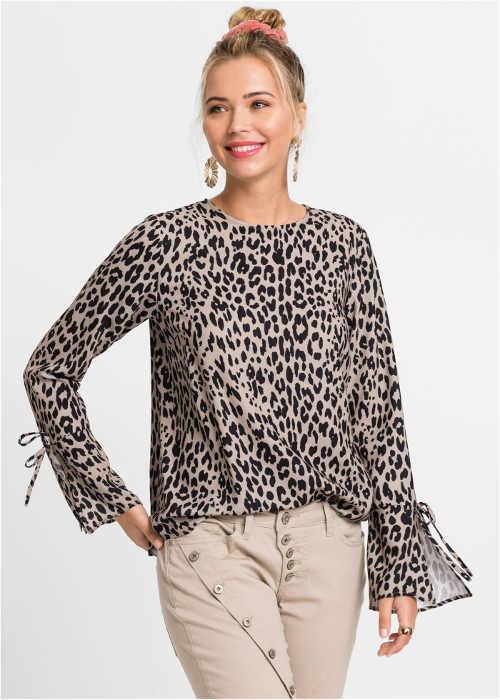 Leopardí společenská halenka