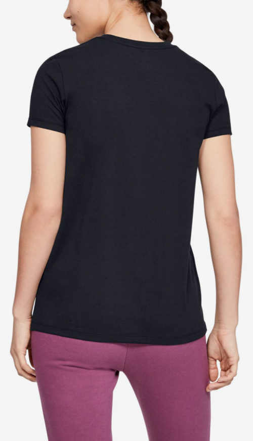 Černé dámské sportovní tričko
