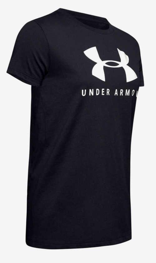 Černé dámské tričko Under ArmourČerné dámské tričko Under Armour