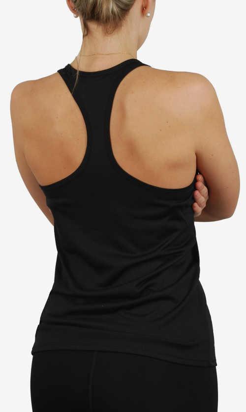 Černé sportovní dámské tílko Nike