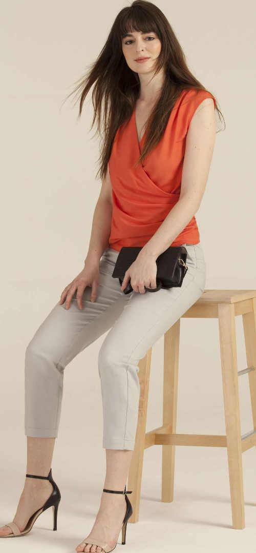 Letní halenka ke kratším kalhotám