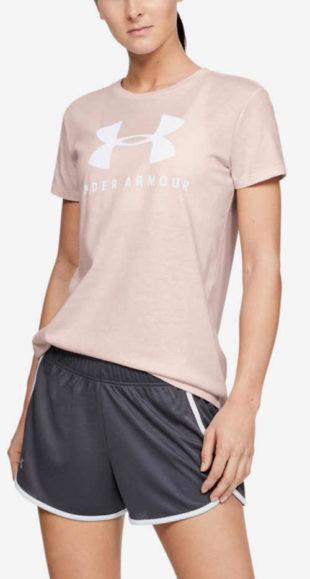 Béžové sportovní tričko Under Armour Graphic