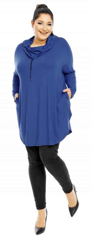 Zimní dámská tunika k leginám