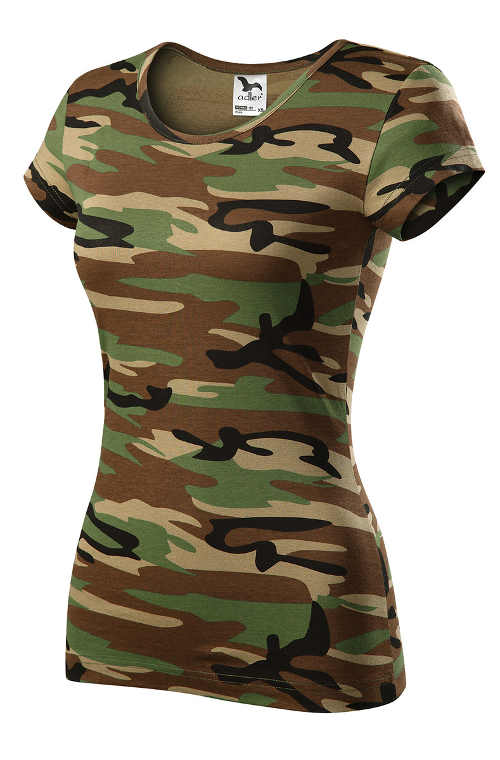 Levné dámské army tričko