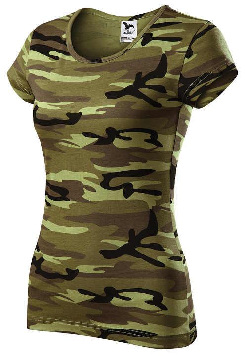 Vojenské dámské tričko