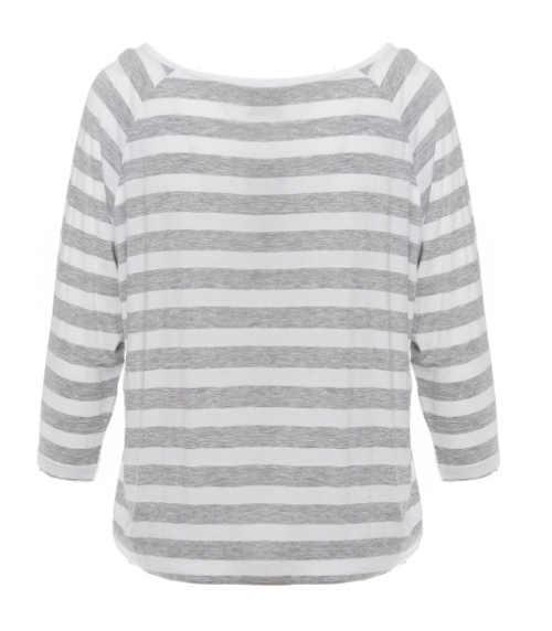 Levné pruhované dámské tričko SAM 73