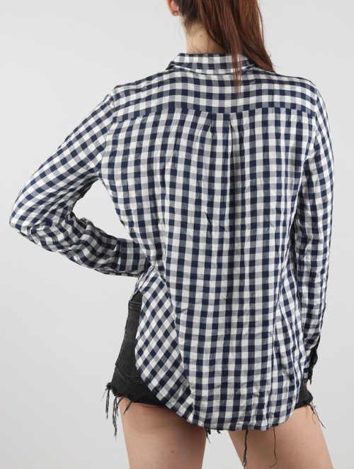 Kostičkovaná dámská košile s dlouhým rukávem Levi's