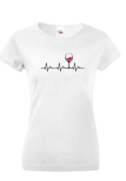 Kvalitní tričko s krátkým rukávem a vtipným motivem