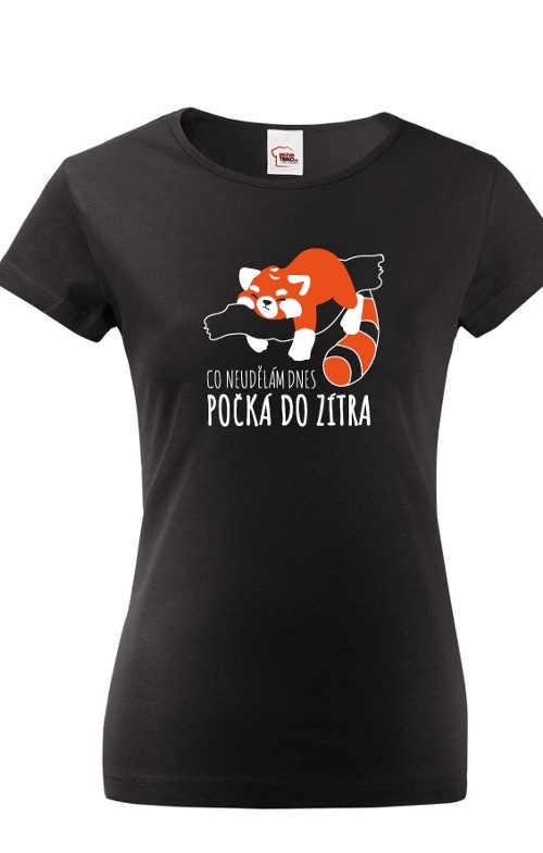 originální tričko s obrázkem a humorným textem