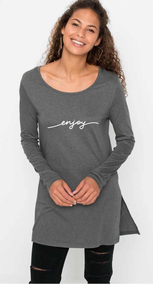 dámské pohodlné triko v elegantním provedení