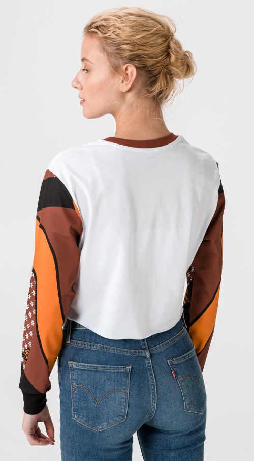triko Vans s dlouhým rukávem z kvalitního materiálu