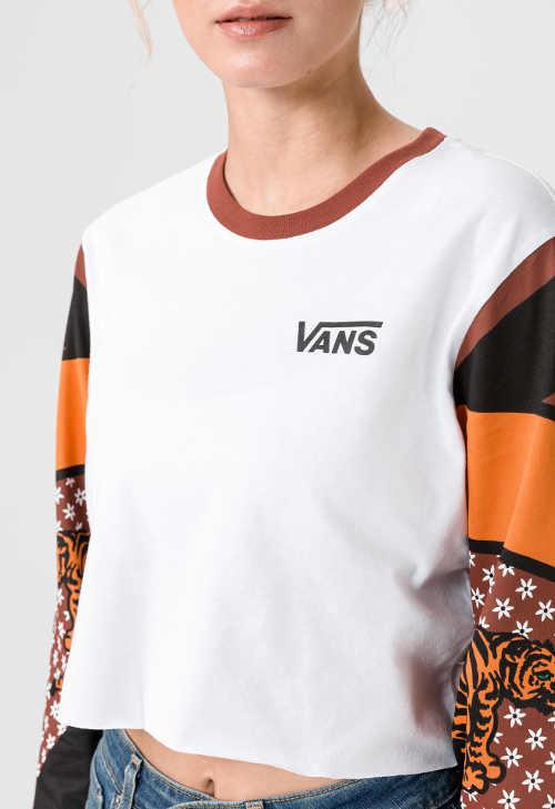 značkové moderní triko s dlouhým rukávem