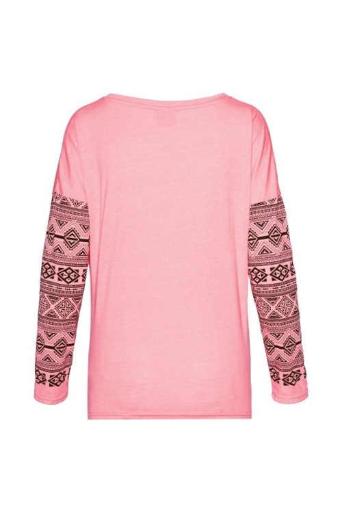 dámské triko s potiskem ve třech módních barvách