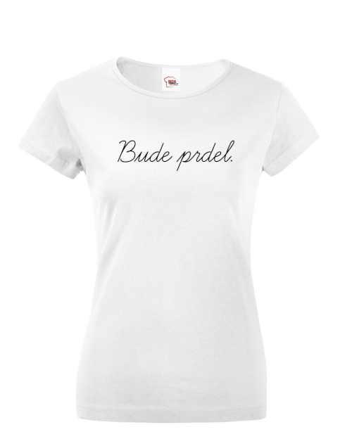 dámské triko v různých barvách s nápisem