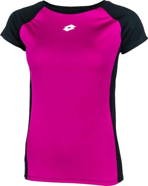 černo-růžové sportovní tričko