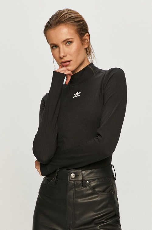 Moderní triko Adidas se stojáčkem u krku a dlouhým rukávem