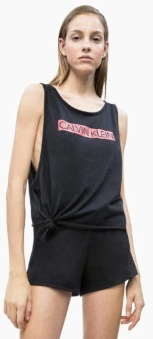 Černé dámské tílko Calvin Klein