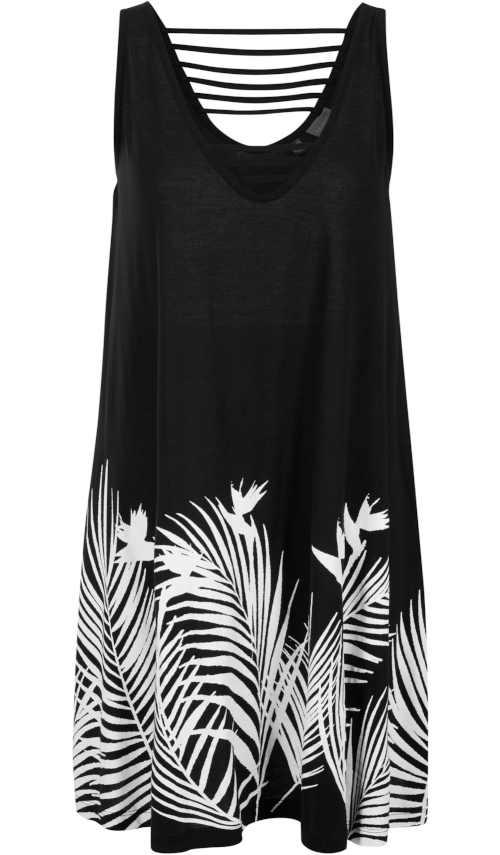 Módní šaty v komfortním střihu z udržitelného materiálu