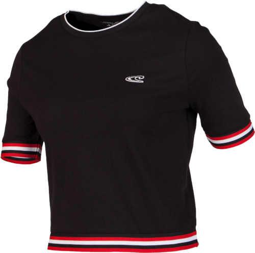 černé tričko crop top