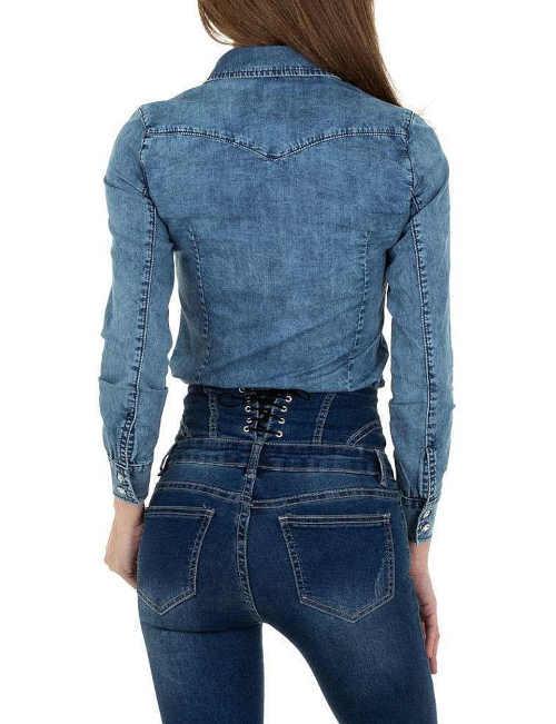 moderní dámská košile v projmutém střihu