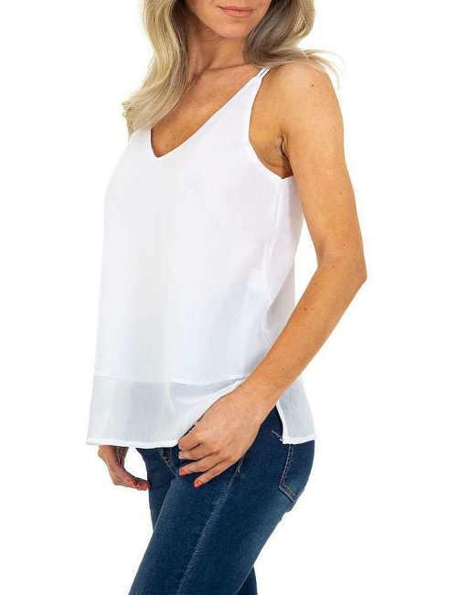 dámský bílý fashion top