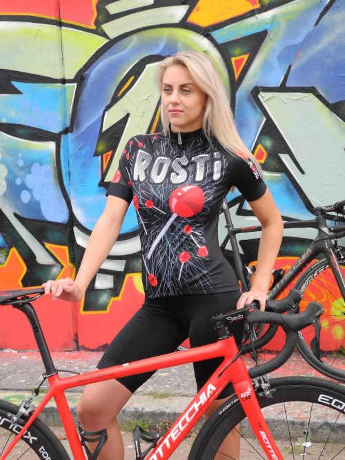 triko na kolo vpředu na zip