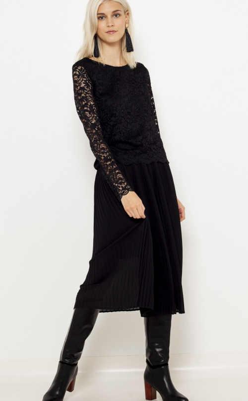 černá dámská halenka Camaieu