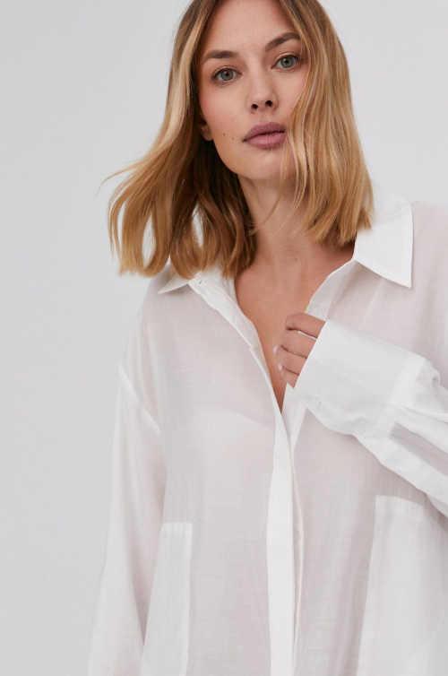 košile se skrytou knoflíkovou légou