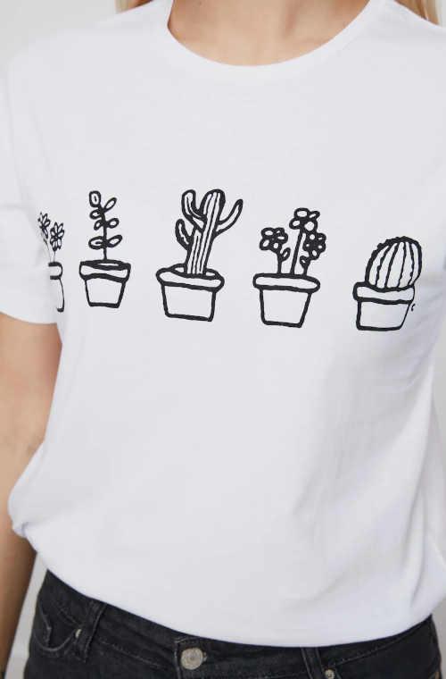 tričko s potiskem vpředu